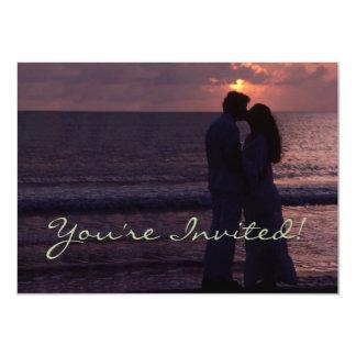 Wedding Invitation Simple Template Custom Photo