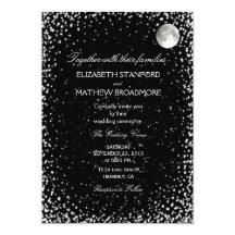 Starry Night Invitations U0026 Announcements | Zazzle