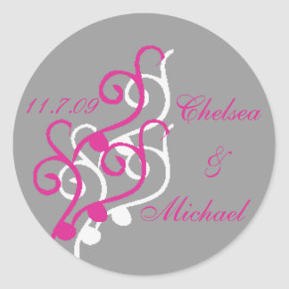 Wedding Invitation sticker