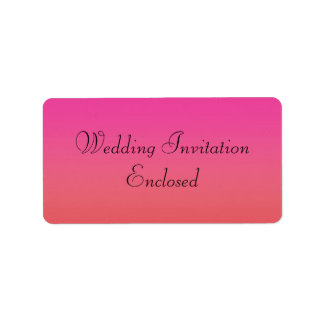 Wedding Invitation Stickers