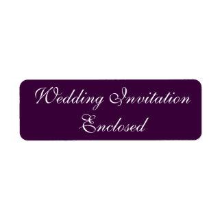 Wedding Invitation Stickers