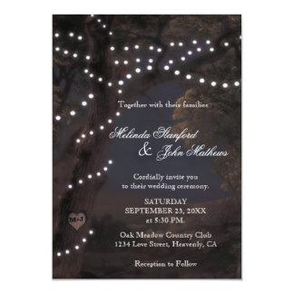 Wedding Invitation   String Lights