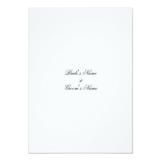 Write Your Own Wedding Invitations: Wedding Invitation Template - Create Your Own