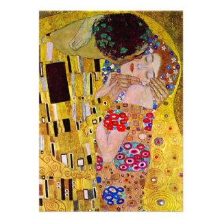 Wedding Invitation The Kiss by Gustav Klimt Announcement