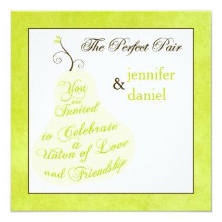 Wedding Invitation   The Perfect Pair