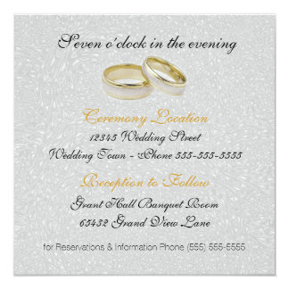 Civil union invitations announcements zazzle wedding invitation two grooms silver damask stopboris Image collections