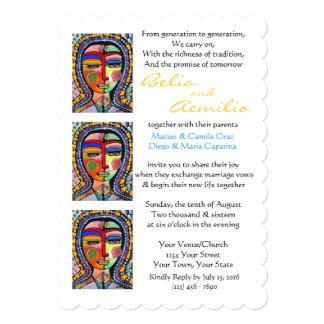 Wedding Invitation Virgin Guadalupe ENLIGHTENMENT