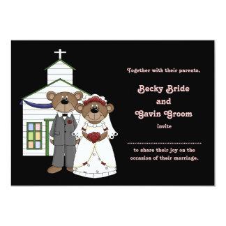 Wedding Invitation Wedding Bears Collection