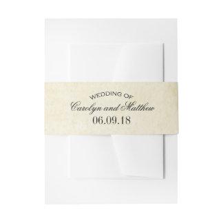 Wedding Invitation Wrap | Vintage Flourish