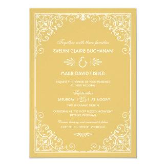 Wedding Invitations | Art Deco Style