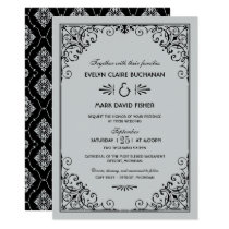 Wedding Invitations | Art Deco Style