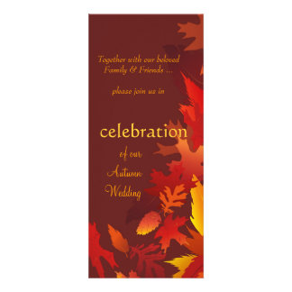 Wedding Invitations - Festive Fall Autumn Weddings