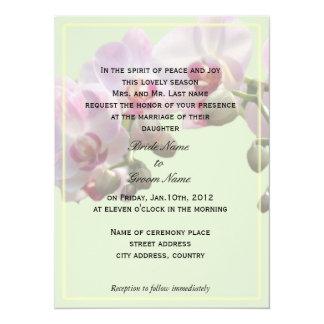wedding invitations from bride's parents