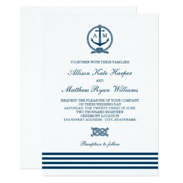 Plush_Paper Wedding Invitations | Nautical Stripes Theme