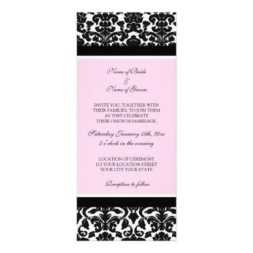 pink white and black wedding invitations 28 images pink – Black White and Pink Wedding Invitations