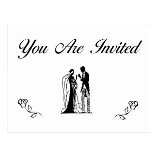 Wedding Invitations Postcard