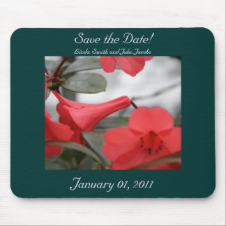 Wedding Invitations, Save the Date! Mouse Pad