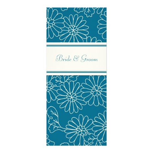 Wedding Invitations Turquoise Floral