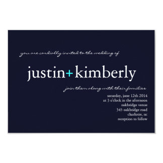 Wedding Invite | A+ |small bluetur