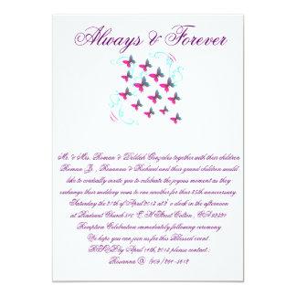 """Wedding Invite 5"""" X 7"""" Invitation Card"""