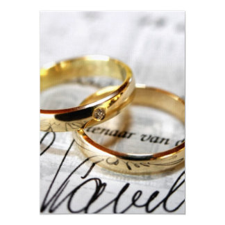 wedding invite or acceptance