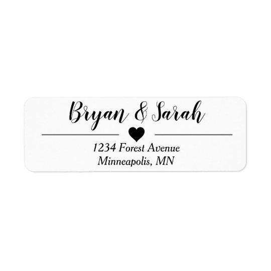 wedding invite return address labels zazzle com