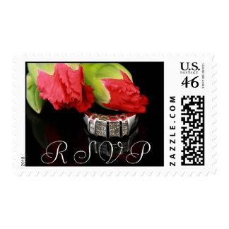 Wedding Invite RSVP Postage