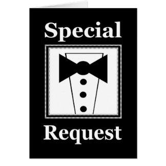 Wedding Invite - Special Request