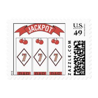 Wedding Jackpot Postage Stamps