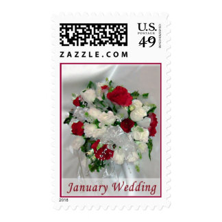 Wedding January Wedding Postage
