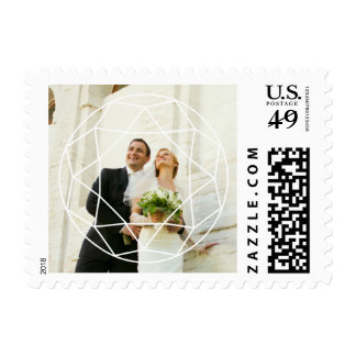 Wedding Jewel Photo Postage