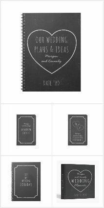 Wedding Journals, Planners and Wedding Binders