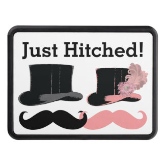 Wedding Just Hitched - Trailer Hitch Tow Hitch Cover