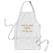 Wedding Keepsake Apron