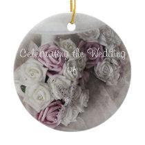 Wedding Keepsake Ceramic Ornament