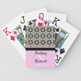 wedding keepsake playing card