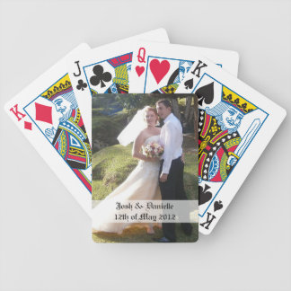 Wedding Keepsake Playing Cards
