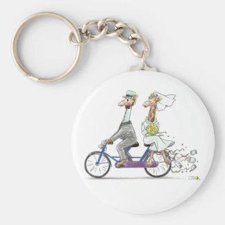 Wedding key chain