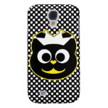 Wedding Kitty Yellow Galaxy S4 Cases