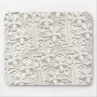 Wedding Lace Mouse Pad