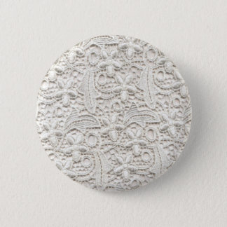 Wedding Lace Pinback Button