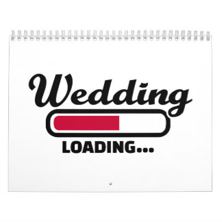 Wedding loading calendar