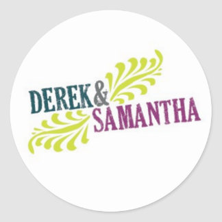 Wedding Logo Sticker