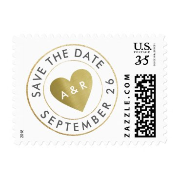 mixedworld wedding love circle_stamp save the date postage