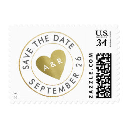 wedding love circle_stamp save the date postage