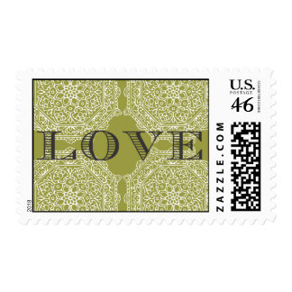 Wedding Love Postage Stamp