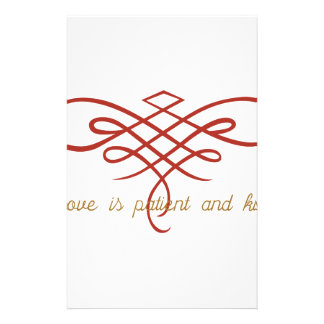 Wedding Love Quilt Stationery