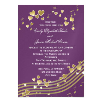Wedding Love Song Card