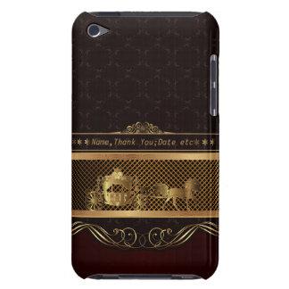 Wedding Luxury Golden iPod Touch  Case