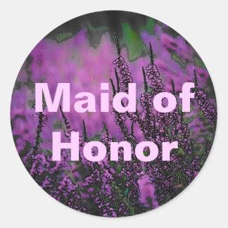 Wedding (Maid/Honor) Sticker